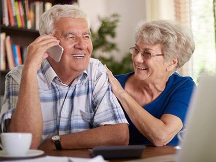 senior & disabled couple housing